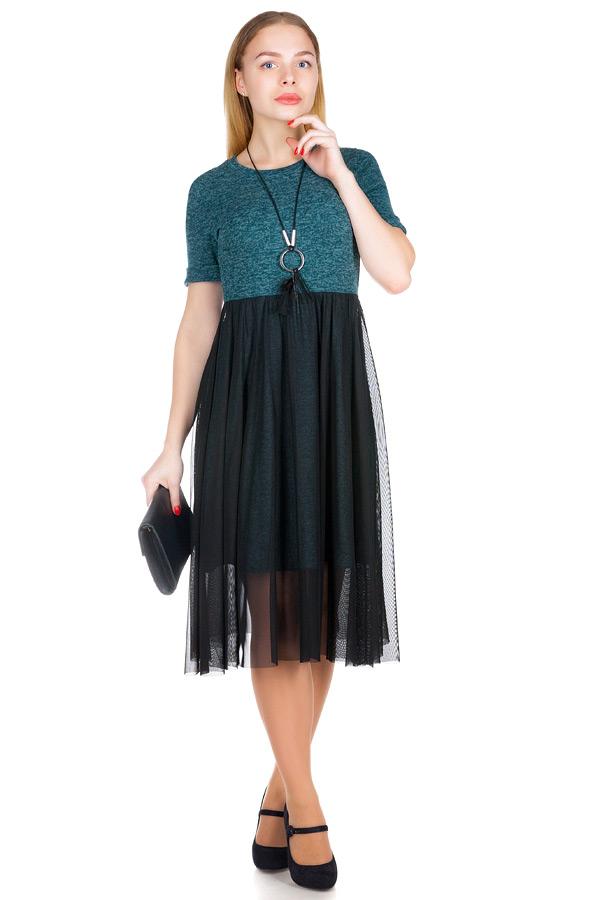 Платье МР Elyane Зеленый