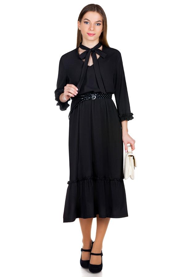 Платье МР Valentina Черный
