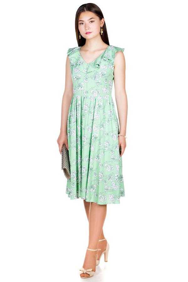 Платье МР Antonella Светло-зеленый