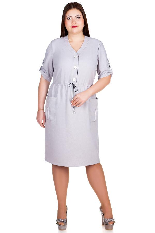 Платье БР Asida Серый