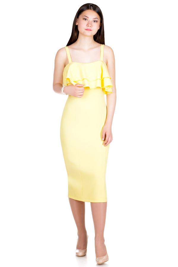 Платье МР Vilda Желтый