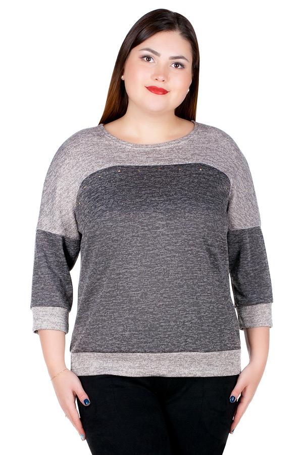 Блуза БР Kosma Беж+Светло-коричневый