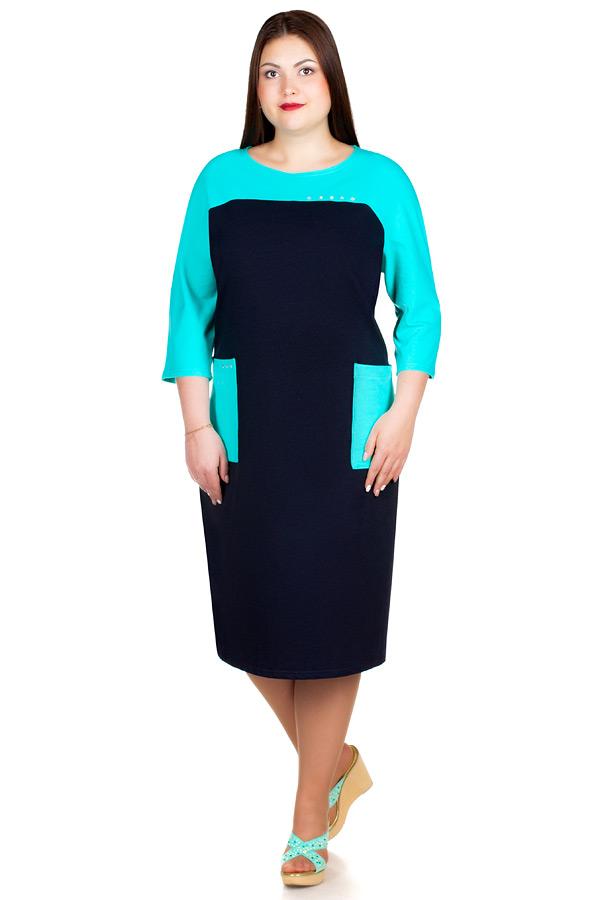 Платье БР Beth Бирюза