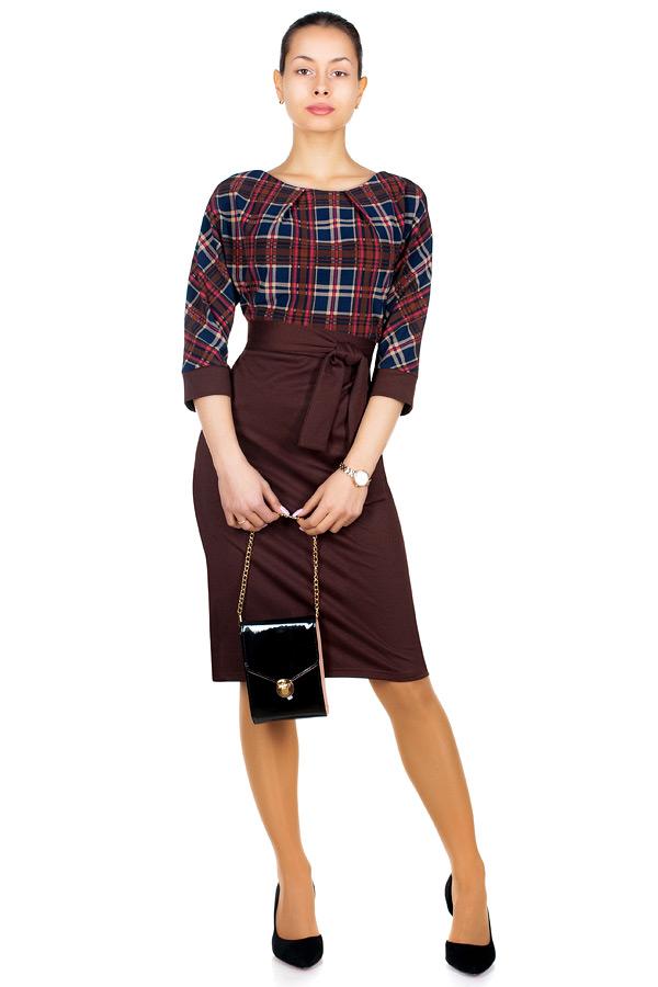 Платье МР Ursula Темно-коричневый