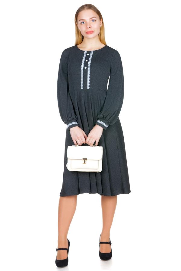 Платье МР Rosabella Серый