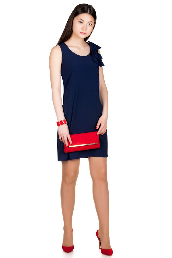 Платье МР Prada Темно-синий