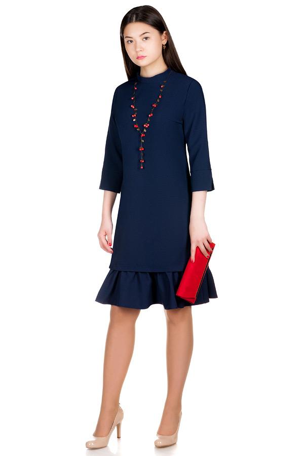 Платье МР Madina Темно-синий