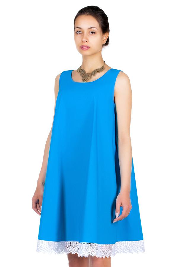 Платье МР Frice Ярко-голубой