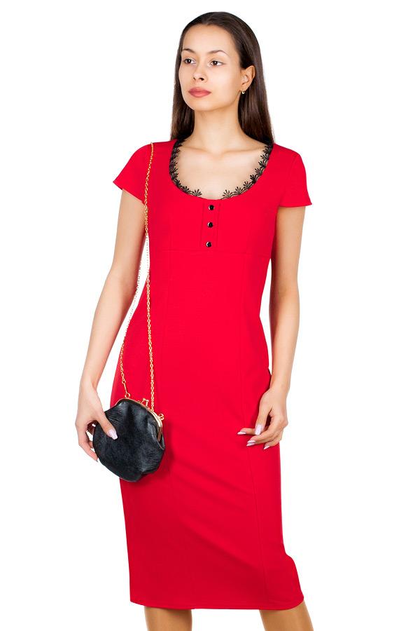 Платье МР Beverli Красный