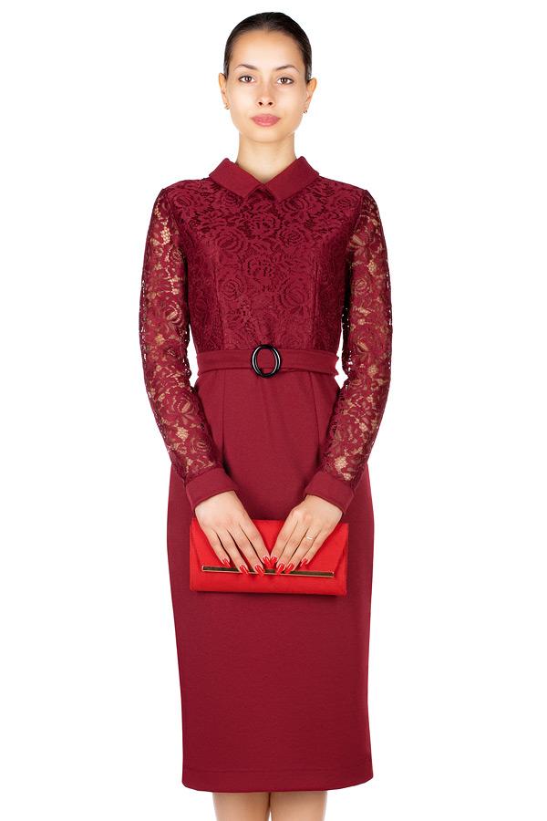 Платье МР Floretta Бордо