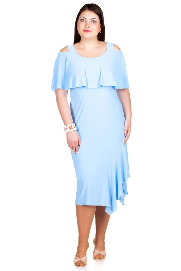 Платье БР Lina Голубой