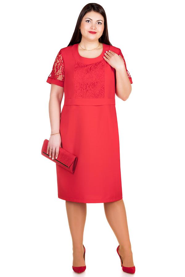Платье БР June Красный