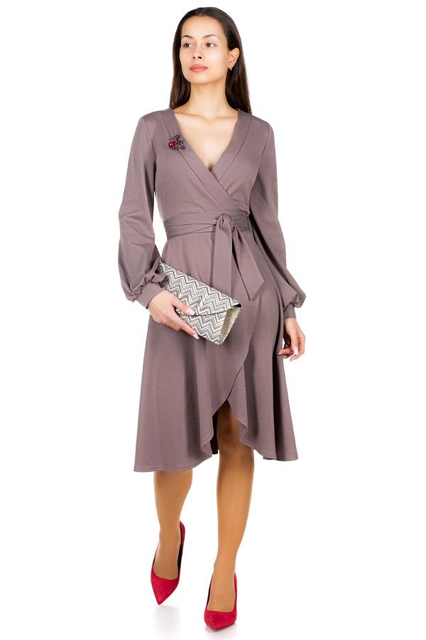 Платье МР Rovena Светло-коричневый