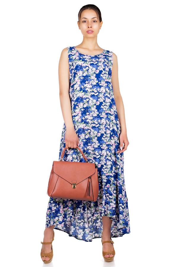 Платье МР Larson Сирень на синем