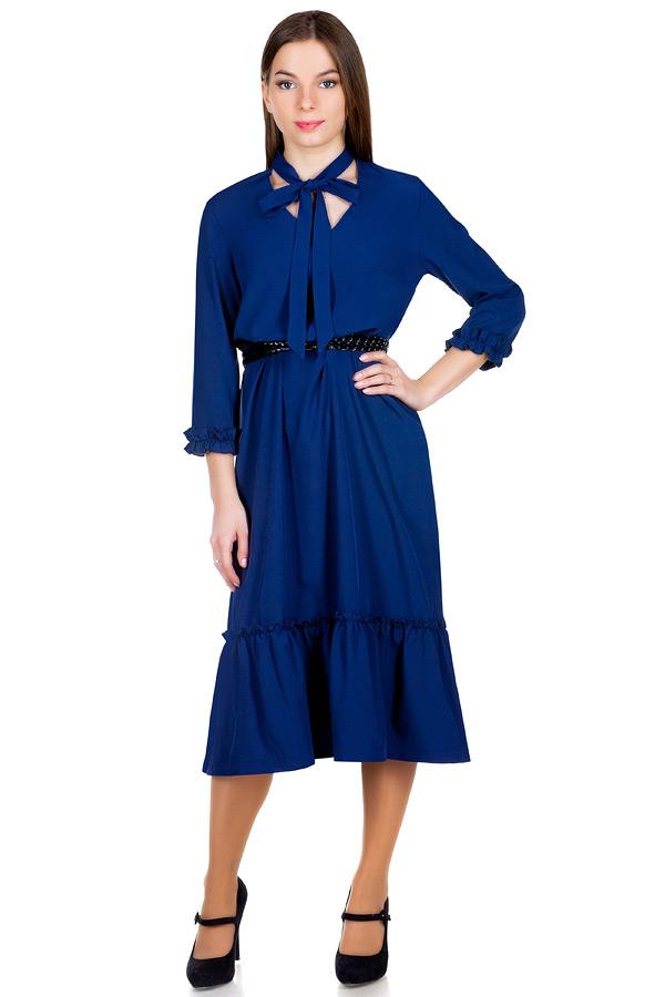 Платье МР Valentina Темно-синий