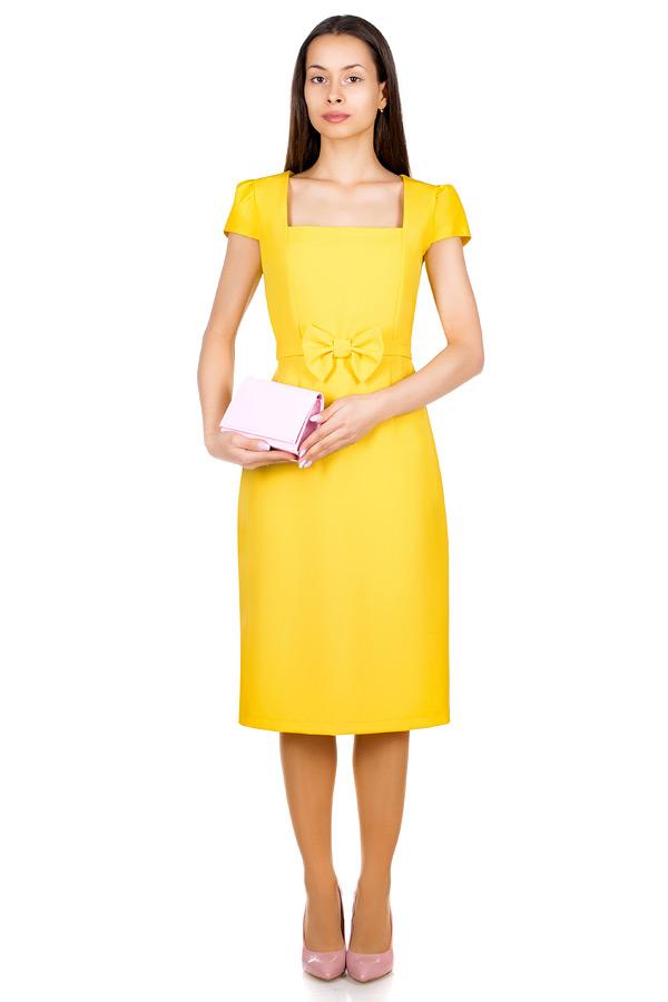 Платье МР Edme Желтый