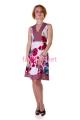Платье Вискоза Цветная вставка