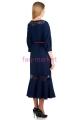 Платье МР Georgia Темно-синий